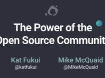 The Power of the Open Source Community slides thumbnail