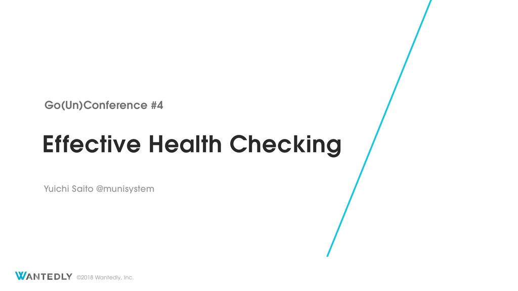 Effective Health Checking