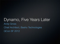 Dynamo, Five Years Later