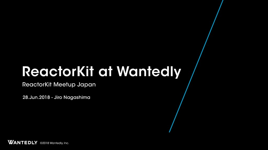 ReactorKit at Wantedly