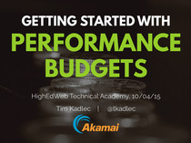 Preview of Getting Started with Performance Budgets