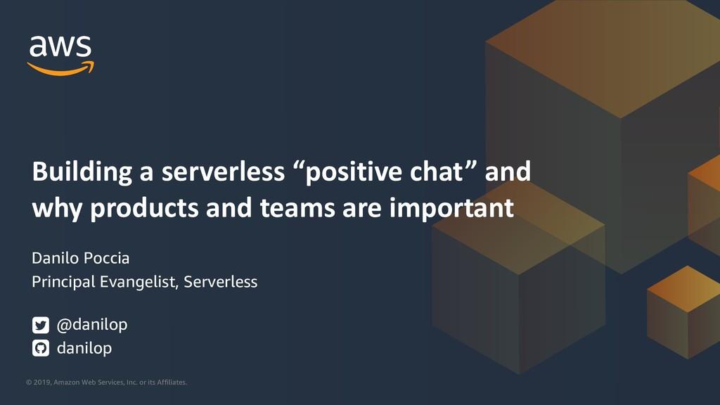 Building a serverless
