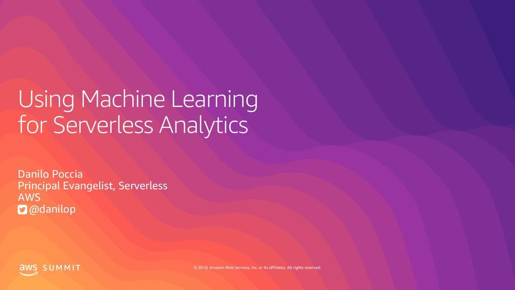 Using Machine Learning for Serverless Analytics