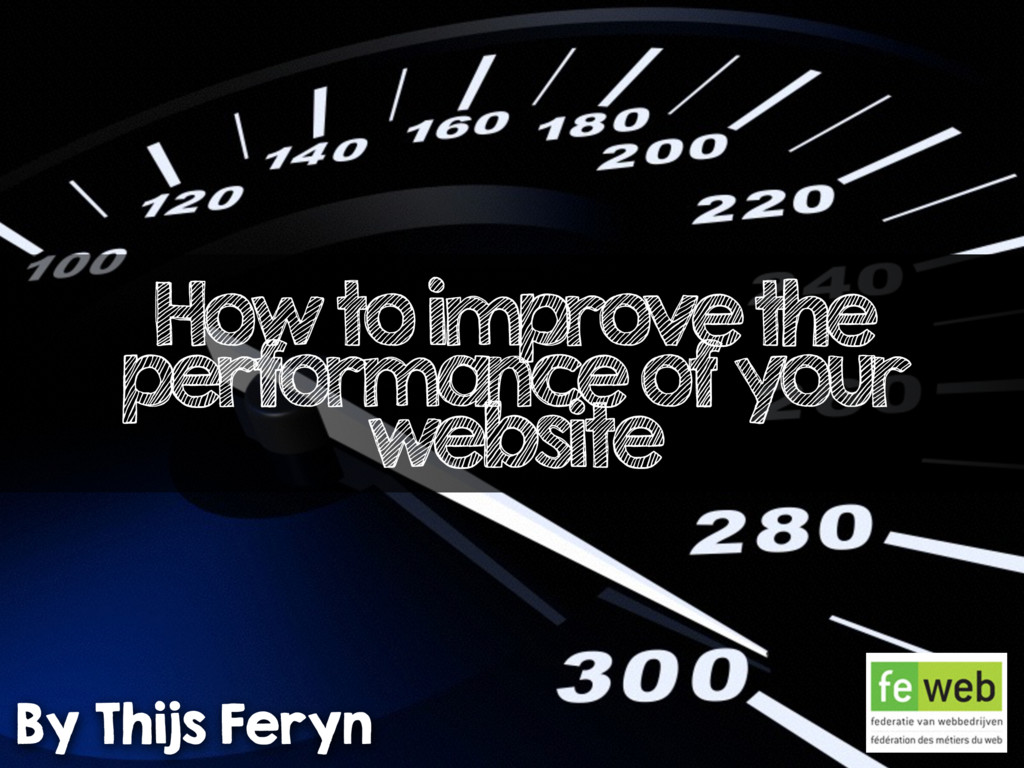 How to improve the performance of your website