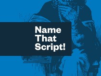 Preview of Name That Script!