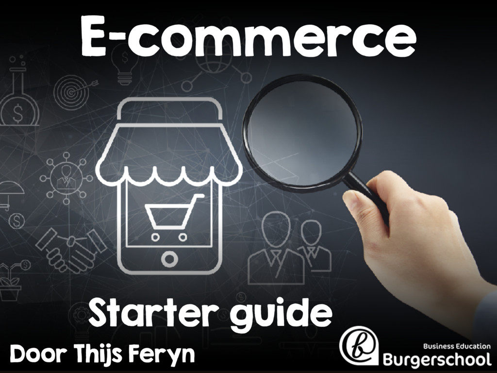 E-commerce starter guide