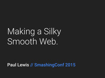 Preview of Making a Silky Smooth Web