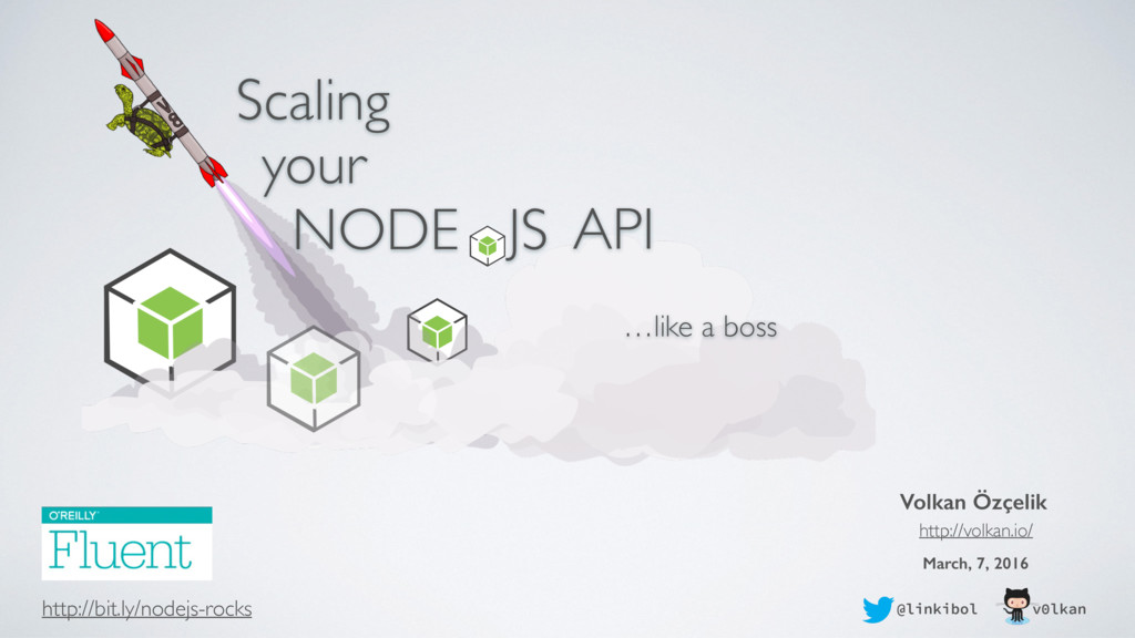 Scaling Your Node.JS API Like a Boss