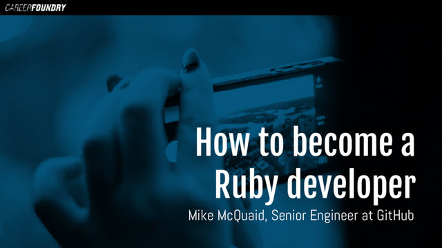 How To Become A Ruby Developer slides thumbnail