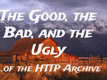 Preview of The Good, The Bad, and The Ugly of the HTTP Archive
