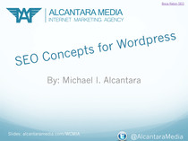 Wordpress and SEO - Wordcamp Miami 2013 Talk