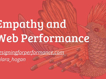 Preview of Empathy and Web Performance