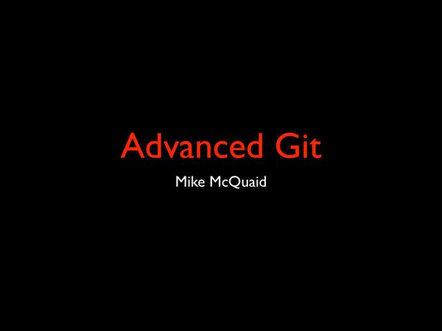 Advanced Git slides thumbnail