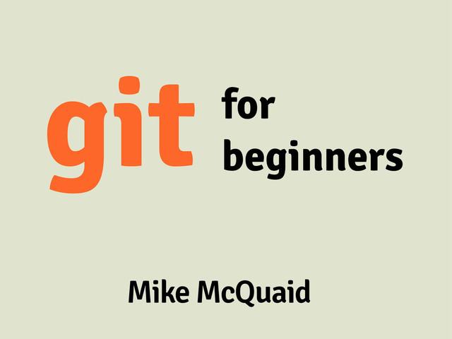 Git For Beginners slides thumbnail