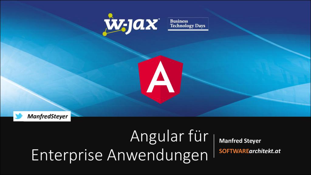 Angular für Enterprise-Anwendungen