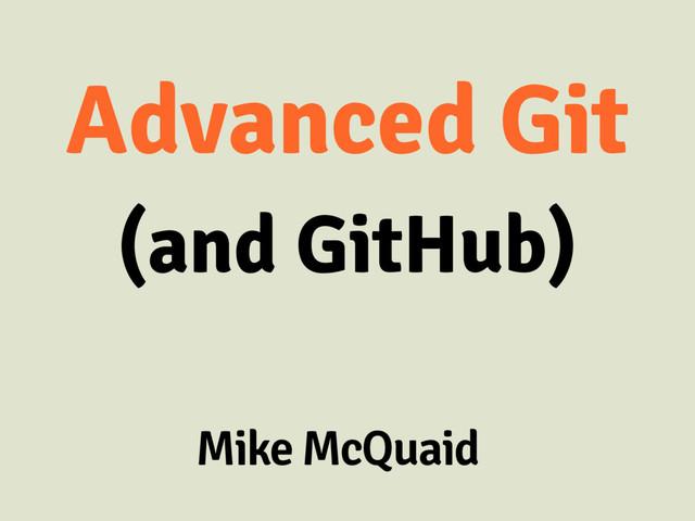 Advanced Git (And GitHub) slides thumbnail