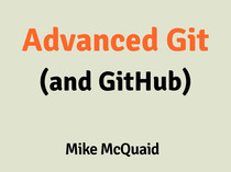 Advanced Git (And GitHub) slides thumbnail