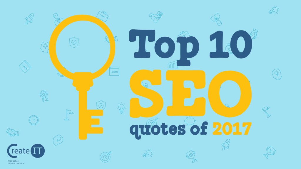 Top 10 SEO quotes of 2017