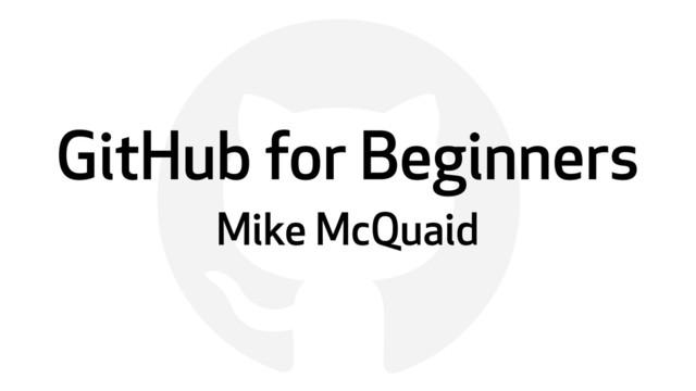 GitHub For Beginners slides thumbnail
