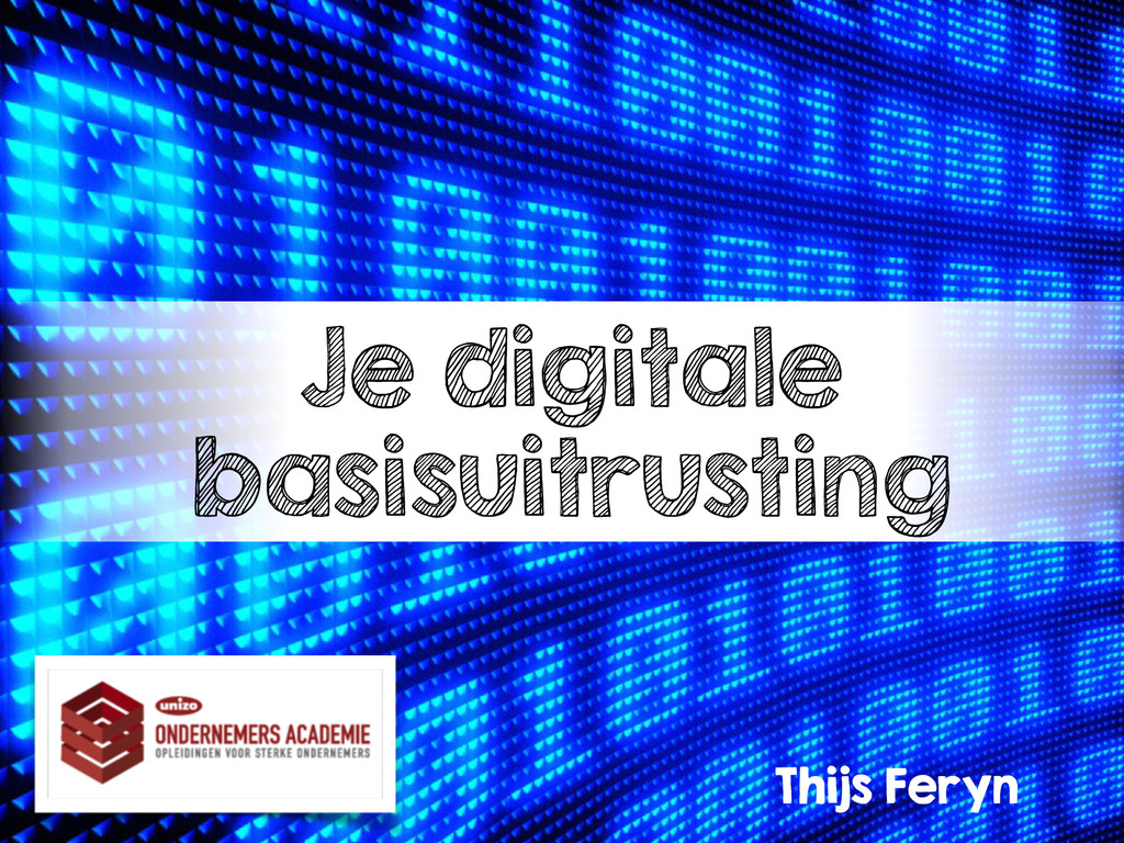 Je digitale basisuitrusting