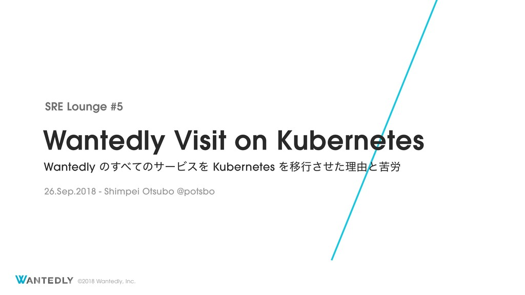 Wantedly Visit on Kubernetes