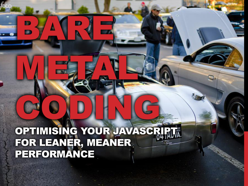 Bare Metal Coding title screen