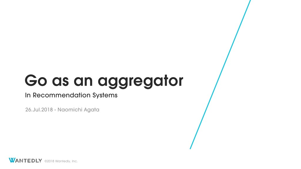 Go as an aggregator in recommendation systems
