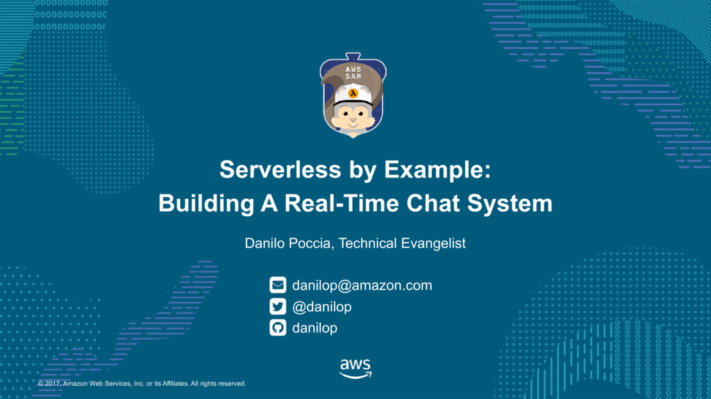Serverless by Example: Building a Real-Time Chat System