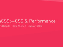 Preview of FaCSSt—CSS & Performance