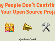 Why People Don't Contribute To Your Open Source Project slides thumbnail