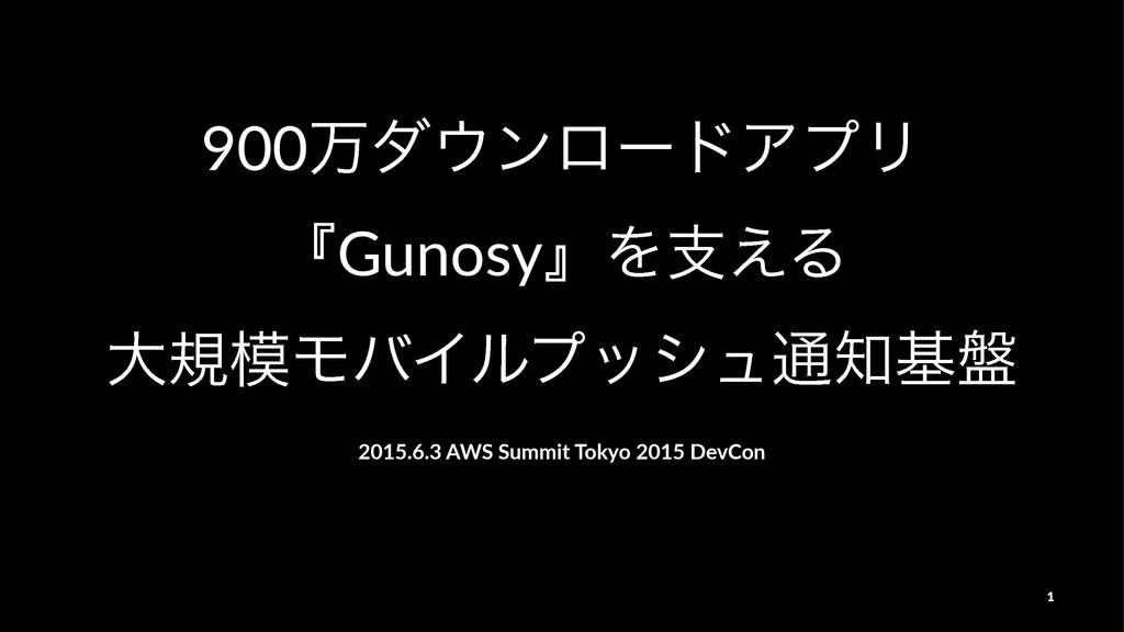 900万ダウンロードアプリ『Gunosy』を支える大規模モバイルプッシュ通知基盤