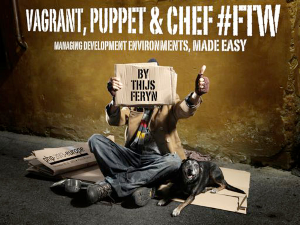 Vagrant, Puppet & Chef for beginners
