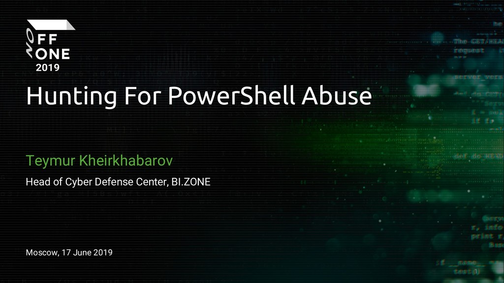 Hunting for PowerShell Abuse