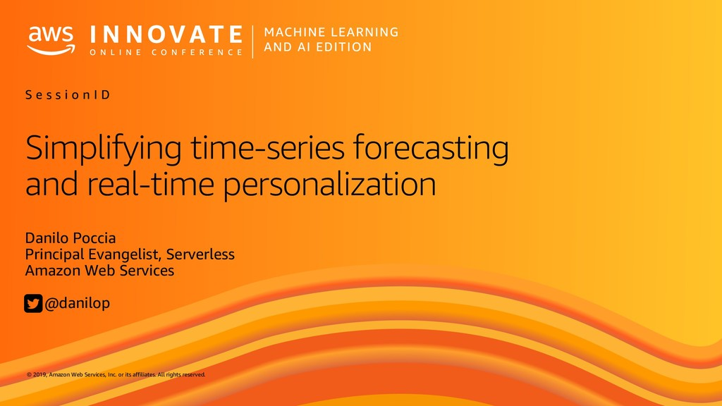 Simplifying time-series forecasting and real-time personalization