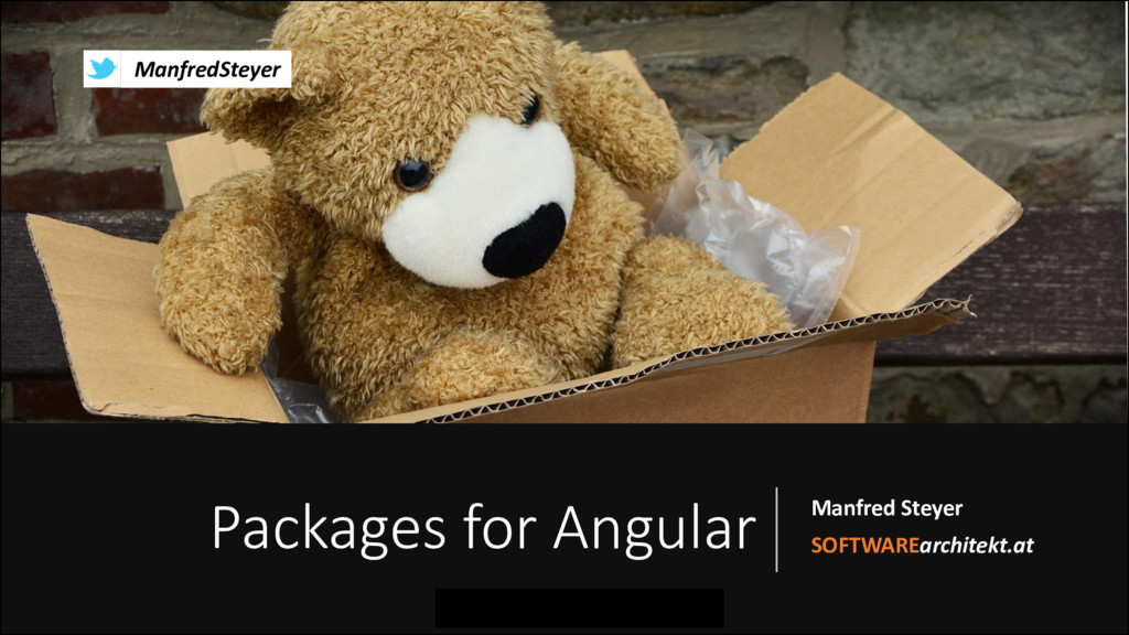 Packages for Angular