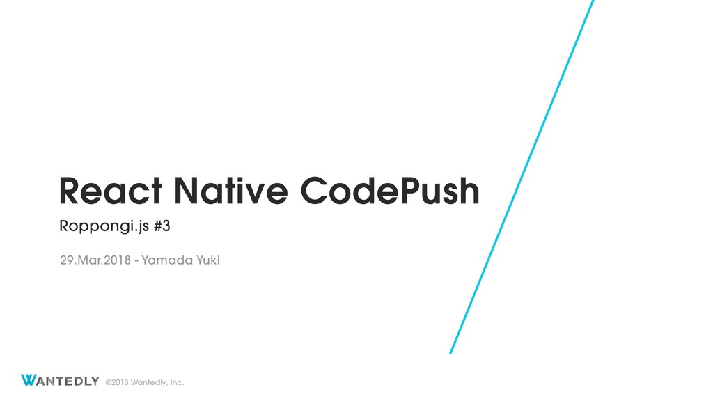 React Native CodePush in Wantedly