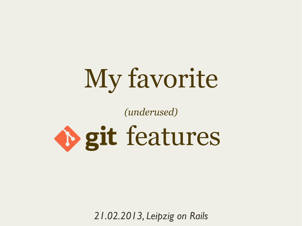 my-favorite-underused-git-features