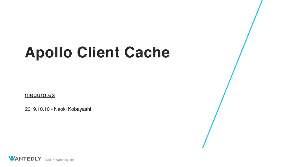 Apollo Client Cache