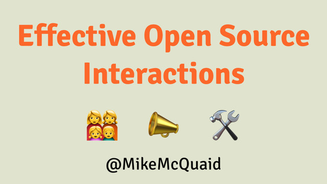 Effective Open Source Interactions slides thumbnail