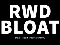 Preview of RWD BLOAT